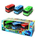 TAYO El pequeño autobús, Tayo + Rogi + Gani, juego de 3 piezas por TAYO
