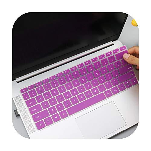 Funda de teclado para Huawei Matebook, protector de piel, cubierta de teclado de silicona para Huawei Matebook D 15, AMD Ryzen 2020, 15,6 pulgadas, Huawei Mate Book D15, color morado