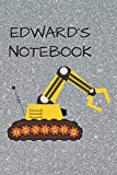 Edward's  Notebook: Funny Digger  Writing 120 pages Notebook Journal -  Small Lined  (6' x 9' )