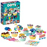 LEGO DOTS Kit Party Creativo con Cupcake, Set Regalo di Compleanno, Decorazioni DIY, Kit Artistici per Bambini,  41926