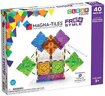 Magna Tiles 40 Piece Freestyle Magnetic Building Set