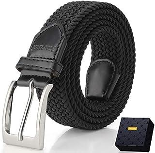 Elastic Braided Belt, Fairwin Enduring Stretch Woven Belt...