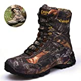 Men's Camouflage Tactical Military Boots, Outdoor Waterproof Hunting Boots, Non-Slip Boots Military Style