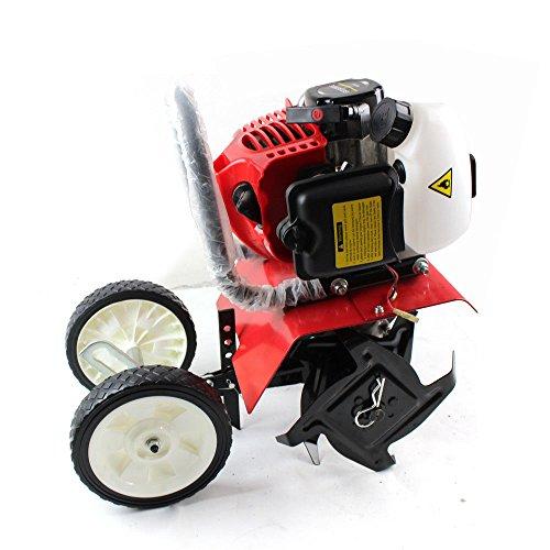 RDFlame - Fresatrice a benzina 52 cc, 1,6 kW (2 CV), larghezza di lavoro 30 cm, profondità di lavoro 8-10 cm, per campi e giardini