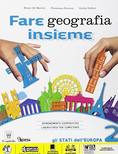 Fare geografia insieme. Plus. Atlante. Per la Scuola media. Con e-book. Con espansione online: 2