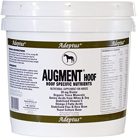 Adeptus Nutrition Ranking TOP6 Augment Hoof EQ Joint Supplements x 11 Max 59% OFF 10 lb.
