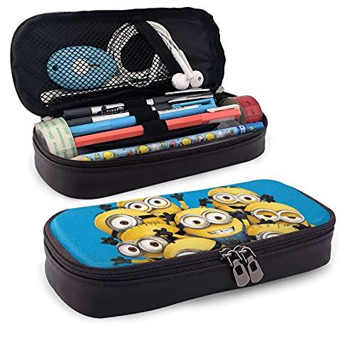 M-ini-ons popular Des-pi-cable Me 2 accesorios Gru estuche de oficina papelería bolsa simple bolsa de viaje bolsa de almacenamiento calendario hombres mujeres adultos niños regalo día