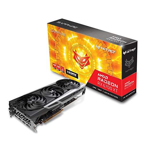 Sapphire Technology Nitro+ AMD Radeon RX 6700 XT Gaming Graphics Card with 12GB GDDR6, AMD RDNA 2 (11306-01-20G)