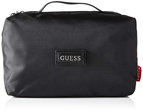 Guess Dan Travel Beauty, Bags Briefcase para Hombre, Negro, Talla única