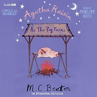 Agatha Raisin: As the Pig Turns cover art