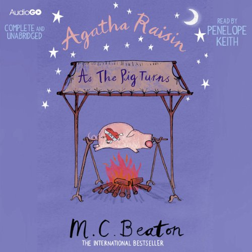 『Agatha Raisin: As the Pig Turns』のカバーアート