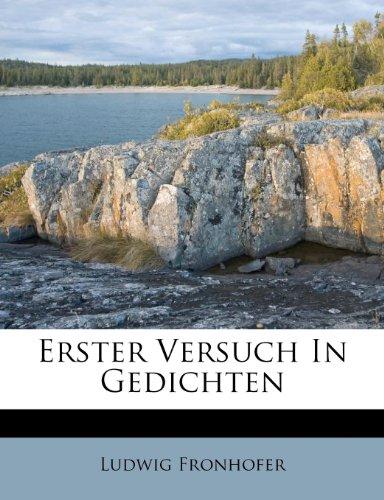 Fronhofer, L: Erster Versuch In Gedichten