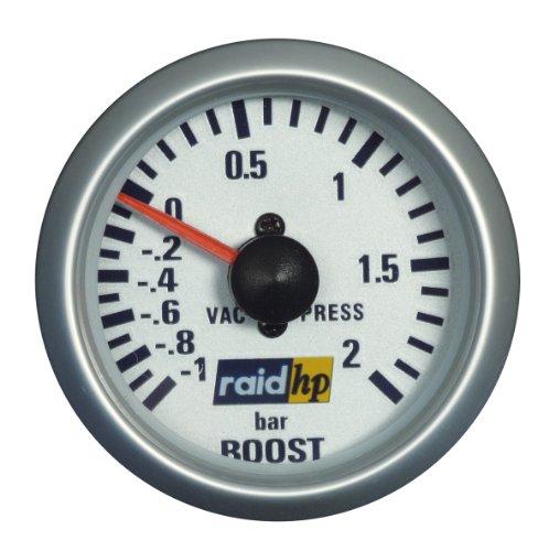 Raid HP 660218 Ladedruckanzeige, Zusatzinstrument Silver Line