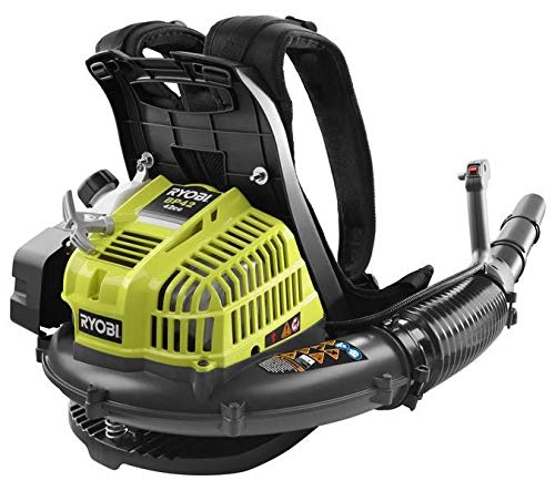 Ryobi RY08420 42cc Gas Powered 2-Cycle Backpack Leaf Blower 185 mph