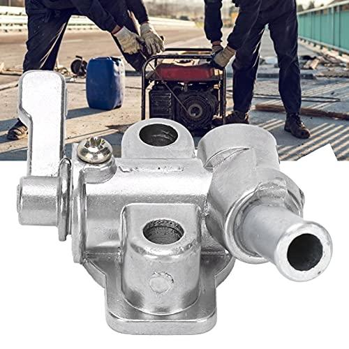 Gaeirt Interruptor de Tanque de Combustible, Interruptor de Tanque de Combustible Duradero para 173F Interruptor de Tanque de timón Ligero para Tanque de Combustible de Motor diésel