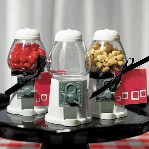Mini kauwgom automaten/verkoopeenheid 5 stuks