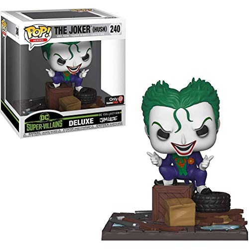 POP Funko The Joker (Hush) 240 DC Super Villains Deluxe - Jim Lee