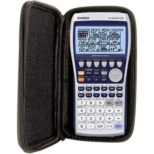 Schutztasche für Taschenrechner und Grafikrechner von Casio, für Modell: FX 9860 GII