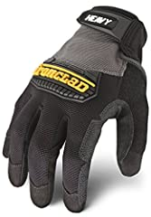 REINFORCED PALM - Duraclad reinforced saddle, palm, thumb and covered fingers for ultimate durability and increased grip HAND SAFETY -  Thermoplastic rubber knuckle protection provides impact and abrasion protection across the knuckles SECURE FIT - A...