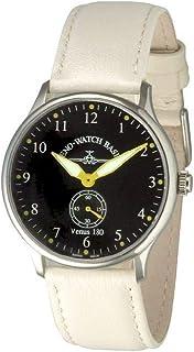 Zeno - Watch Reloj Hombre - Flatline Venus 180 Black+Yellow - Limited Edition - 6682-6-a19
