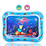 Jestilo Inflatable Tummy Time Water Mat Baby – Infant and Toddler Baby Play Mat Sensory Toys for Baby Early Development Activities | Age 3 to 12 Months