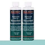 - Blue Magic - Líquido acondicionador para camas de agua. Cantidad: 2 envases de 236 ml