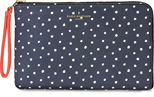 Pauls Boutique, Mini Fleur, tablet-hoes, iPad, Samsung Galaxy Tab, Amazon Kindle, donkerblauw, 24,5 x 19 x 2 cm (B x H x D)