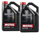 MOTUL Aceite Lubricante Specific 504.00-507.00 5w30, Pack 10 litros