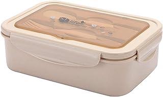 zyl Bento Lunch Box a Prova di perdite per Bambini Forno a microonde Riscaldamento Diviso Set di contenitori per Il Pranzo...