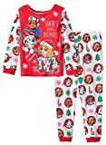 Paw Patrol Little Girls Toddler Long Sleeve Christmas Pajama Set (5T)