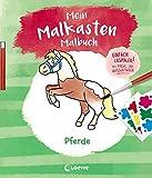 Mein Malkasten-Malbuch - Pferde: Einfach losmalen! Mit Pinsel und Wasserfarben ab 3 Jahre