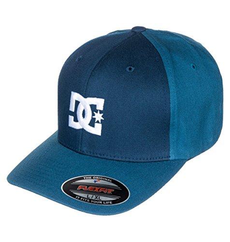 DC Shoes Mens Cap Star 2 M Hats Btl0 Visor Blue Bleu Blue Iris X Large