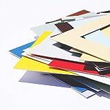 [page_title]-Passepartout Premium Museumsqualität - 34 Farben in Allen Größen - Reinweiß (Farbe) - (Außen: 50x70 / für Bildgröße: 40x60)