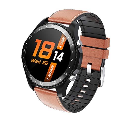 tieoqioan Smart Watch Bluetooth Call IP67 Impermeable Presión Arterial Monitor de oxígeno Ritmo cardíaco Fitness Tracker Deportes