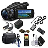 Sony Handycam FDR-AX700 4K HD Video Camera Camcorder with 128GB Memory Card + Carrying Case + HDMI Cable and More -...