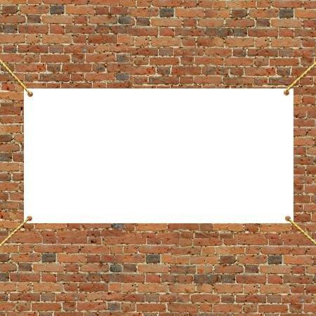VictoryStore Outdoor Banners - �Vinyl Banner Blank, Size 4� x 8�, 13 oz Vinyl