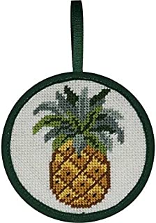 Alice Peterson Stitch-Ups Needlepoint Ornament Kit- Pineapple