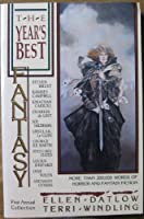 The Year's Best Fantasy First Annual Collection 0312018525 Book Cover
