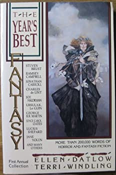 The Year's Best Fantasy First Annual Collection 0312018517 Book Cover