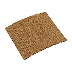 If your hat is too big, these self-adhesive corking strips can be inserted inside the sweatband to make it a better fit. Made from cork, these traditional strips are more breathable and durable than cheaper foam alternatives. Instructions are include...