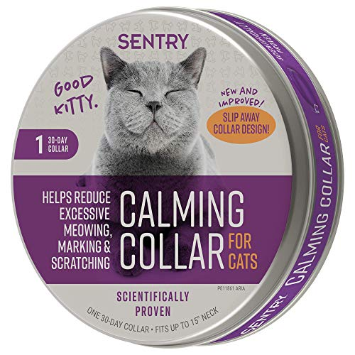 Comportamento Sentry e gola calmante para gatos, 1 Ct