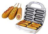 J-JATI Waffel Corn Dog Maker Hot Dog Presser Maker Waffel Stick Maker Hot Dog Maker Corn Dog Machine hot Dog and Corn Dog Maker Mix Any Type of Batch SW230-W6