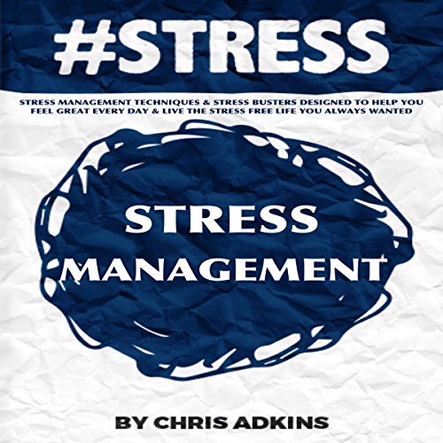 #STRESS Stress Management audiobook cover art