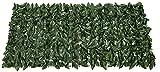 TREEECFCST Seto Artificial Vallas Decorativas Adorno de Paneles de Cobertura de Hojas de Lvy para jardín de privacidad de Bodas Artificial Hedge F00619