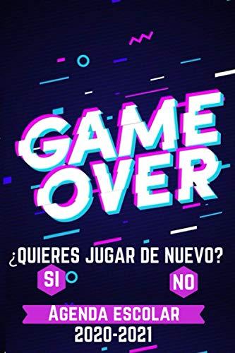 agenda escolar 2020-2021 game over: Agenda Gamer | primaria
