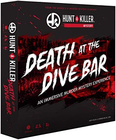 Hunt A Killer Death at The Dive Bar Immersive Murder Mystery Game Take on the Unsolved Case product image