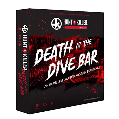 Hunt A Killer Death at The Dive Bar Immersive Murder Mystery Game Take on the Unsolved Case as an Independent Challenge for Date Night or with Family amp Friends as Detectives for Game Night Age 14
