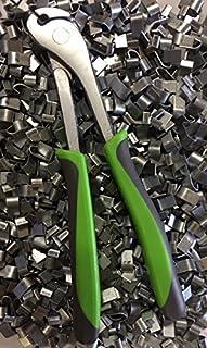 rabbitnipples.com Best J-Clip Pliers + 2 LBS of J-Clips, Comfort Green Handle j-Pliers J-Clip Pliers j-Pliers