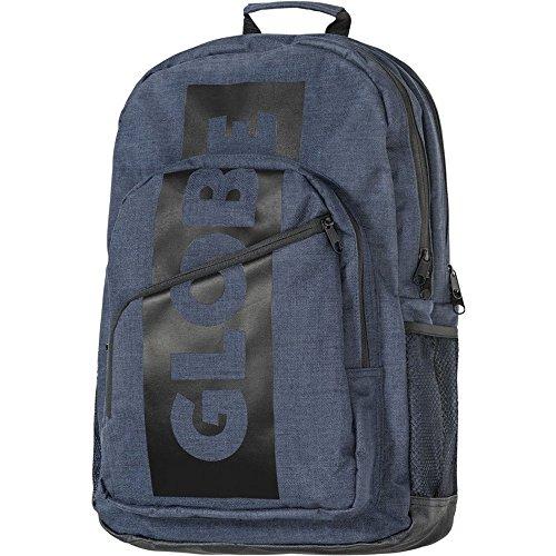 Globe Unisex-Erwachsene Jagger III Backpack Rucksack, Blau (Indigo 000), 30x40x30 cm