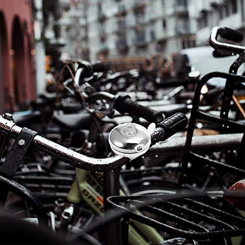 LIOOBO Bike Bell Metal Bicycle Bell Handlebar Bell for Adults Men Women Kids